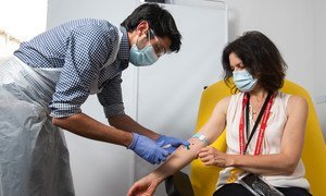 A trial to develop a vaccine for the coronavirus is underway at Oxford University's Jenner Institute.