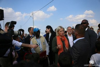 La Représentante spéciale du Secrétaire général des Nations Unies pour l'Iraq, Jeanine Hennis-Plasschaert