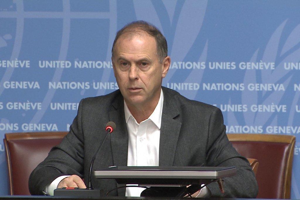 Rupert Colville, porte-parole du Haut-Commissariat des Nations Unies aux droits de l'homme (HCDH)