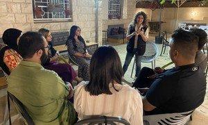 Balqees Shahin is a volunteer with HeforShe in Jordan