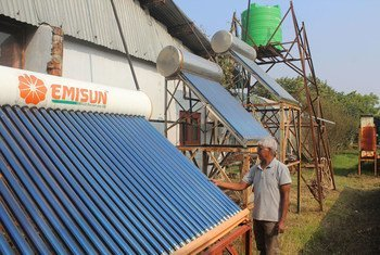 Solar powered mushroom farming in Nepal improves livelihoods and nutrition, and reduces deforestation.