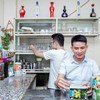 Nguyen Trong Hung (right) opened a café for the LGBT community in Son La, Viet Nam.