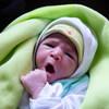 A new-born at a public health centre in in Marrakech, Morocco.
