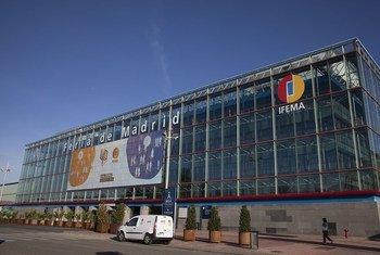 Local em Madri onde acontece a COP25 até 13 de dezembro