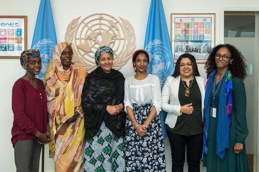 نائبة الأمين العام تلتقي وفد النساء السودانيات المشاركات في اجتماعات الأمم المتحدة في إطار الاستعداد للاحتفال بالذكرى العشرين لقرار مجلس الأمن 1325
