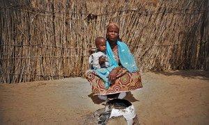 أمارسيا هي واحدة من بين 1.5 مليون شخص نزحوا في النيجر بسبب الصراع في منطقة وسط الساحل.