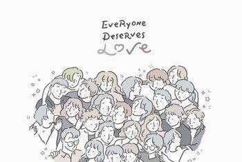 每一个人都值得被爱。
