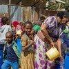 UNICEF imesambaza huduma za kujisafi na usafi kwa wakimbizi wa ndani huko Shire jimboni Tigray nchini Ethiopia.