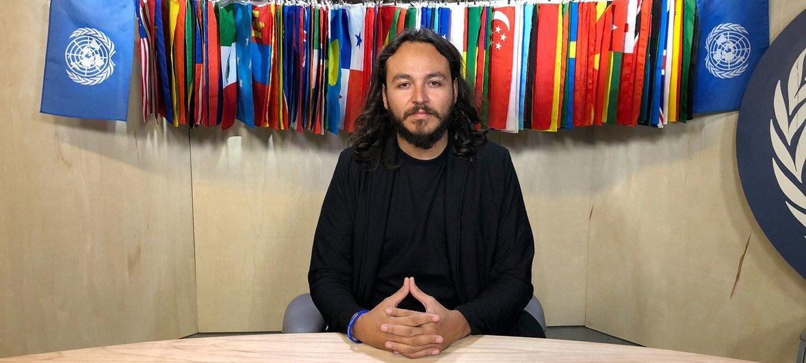 Roberto Cerda, el fundador de la ONG Restore Coral, que dirige el proyecto del Arca de Noé.
