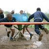 Children in Eswatini play at a primary school in Lobamba region.