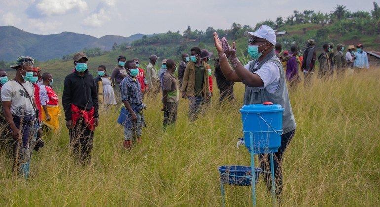 Jimboni Kivu Kusini nchini DRC kikundi kilichojihami kikisalimisha silaha kufuatia ombi la serikali ya DRC na ujumbe wa Umoja wa Mataifa wa kuweka utulivu nchini humo, MONUSCO