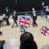 Des anciens combattants britanniques des guerres passées défilent au Royaume-Uni.