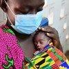 儿童基金会正在帮助保护科特迪瓦的弱势婴儿免受冠状病毒大流行的影响。