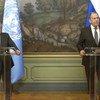 Генеральный секретарь ООН Антониу Гутерриш и министр иностранных дел РФ Сергей Лавров провели пресс-конференцию по результатам переговоров в Москве.