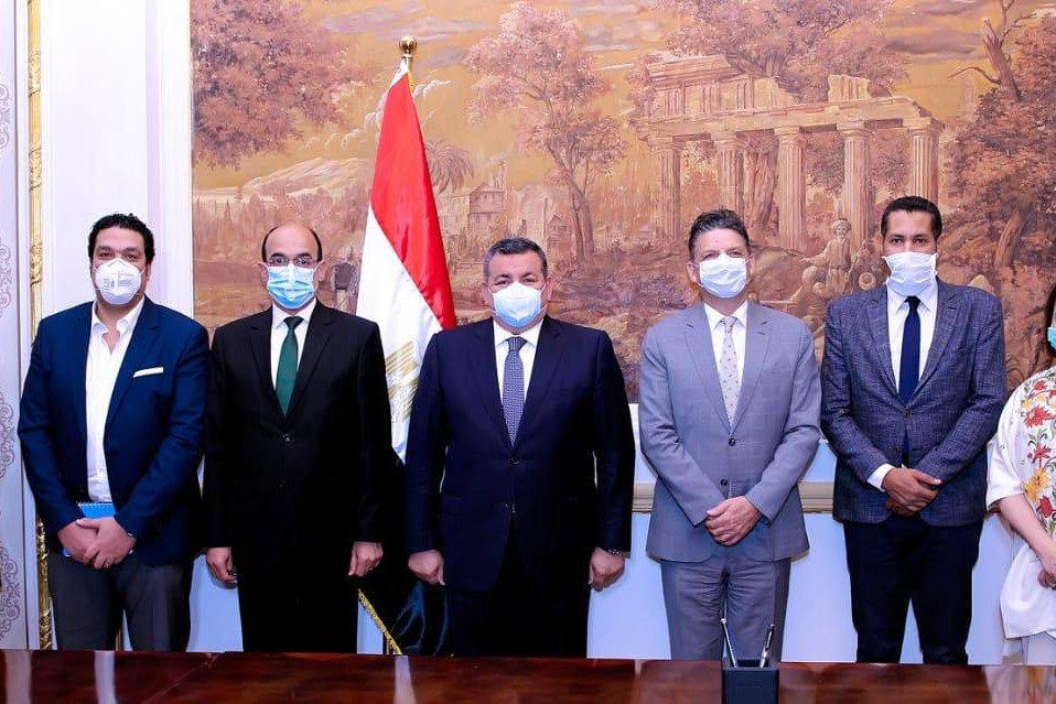 يونيسف مصر ووزارة الإعلام المصرية يوقعان بروتوكل تعاون لمواجهة فيروس كورونا