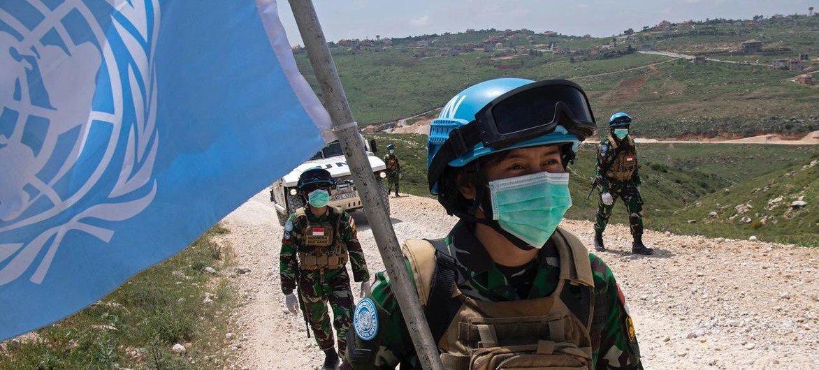 منذ ظهور جائحة كوفيد -19 ، واصلت اليونيفيل وقوات حفظ السلام التابعة لها أنشطتها العملياتية اليومية على طول الخط الأزرق في جنوب لبنان.