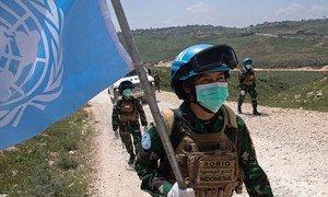 自新冠大流行病暴发以来,联黎部队及其维和部队一直在黎巴嫩南部沿蓝线执行日常维和任务。