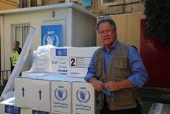 Em Moçambique, David Beasley citou a colaboração do governo no progresso do apoio humanitário