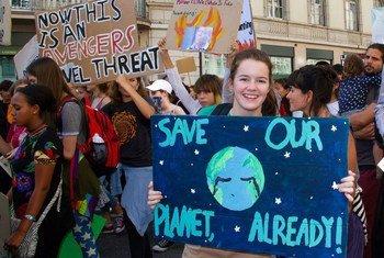 青年的积极参与对于稳定的社会和避免对可持续发展的最严重威胁,包括气候变化的影响至关重要。
