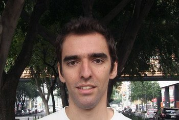 Jorge Martínez  es uno de los cien ganadores de un pasaje verde a Nueva York para participar en la Cumbre de la Juventud sobre el Clima.