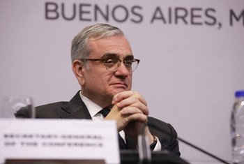 Jorge Chediek, Envoy of the Secretary-General on South-South Cooperation at the launch in Buenos Aires, Argentina, of the report, 'South-South Cooperation in the Digital World.'