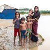 The UN World Food Programme launched its biggest rapid food response following heavy rains and flash flooding in the Cox's Bazar refugee camps and host communities.