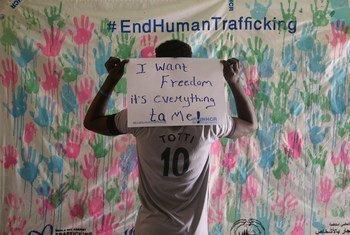 Menino de 17 anos no leste do Sudão, que sobreviveu ao tráfico humano, expressa seu desejo de ser libertado