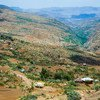 Une route à travers les montagnes du Tigré, en Ethiopie. (photo d'archives).