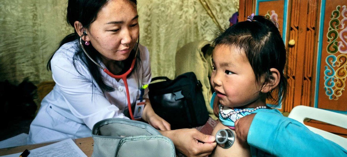 Pneumonia can be prevented by immunization, adequate nutrition, and by addressing environmental factors, according to the World Health Organization.