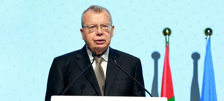 يوري فيدوتوف، المدير التنفيذي لمكتب الأمم المتحدة المعني بالمخدرات والجريمة.