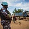 Fuerzas de paz de la ONU patrullando la región de Menaka en el noreste de Malí.