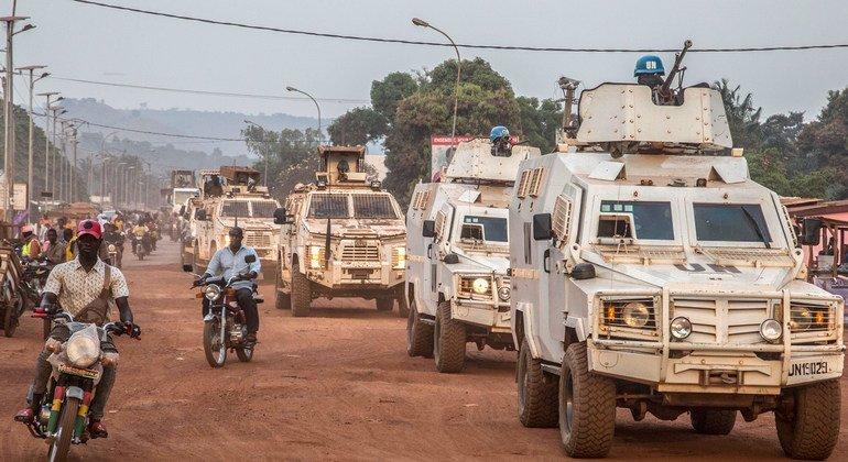 """两名维和人员在中非共和国遇害 联合国强烈谴责这一""""懦弱袭击"""""""