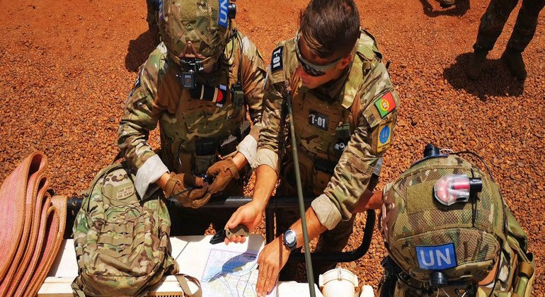 Soldados de paz da ONU vindos de Portugal são enviados a algumas das partes mais perigosas da República Centro-Africana