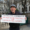 A New York City resident advocates for how he thinks the Coronavirus (COVID-19) outbreak should be tackled.