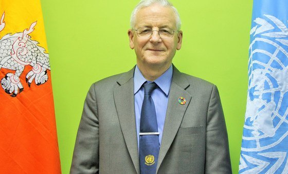 Gerald James Daly, United Nations Resident Coordinator in Bhutan.