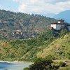 不丹旺杜波德朗宗全景
