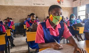 In Malawi, some students have been going to school amid the COVID-19 pandemic.