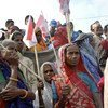 Members of the Madheshi community of Biratnagar attend a political rally to demand autonomous federal regions and greater representation in parliament. (2008)