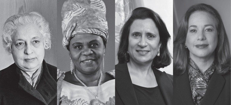 """O livro """"4 de 74"""" apresenta as quatro mulheres a presidirem a Assembleia Geral até agora"""