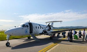 Le Service humanitaire aérien des Nations Unies (UNHAS) a quitté Islamabad au Pakistan pour effectuer son premier vol vers Kaboul depuis que les Talibans ont pris le contrôle du gouvernement.