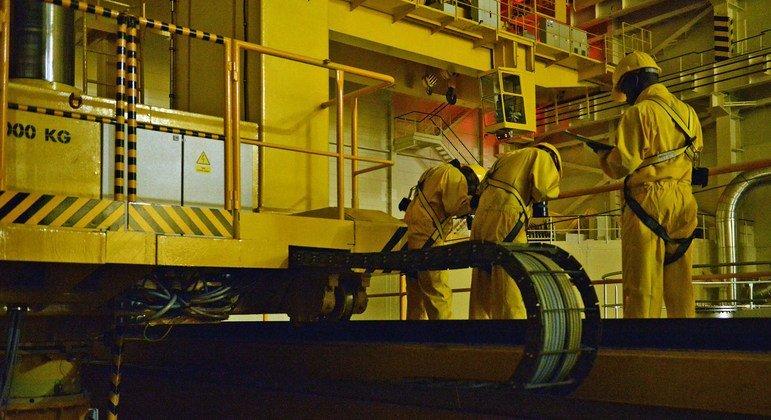 A Aiea trabalha para garantir a segurança de plantas nucleares como esta, na República Checa.