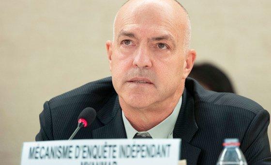 Nicolas Koumjian, Head of the Independant Investigative Mechanism for Myanmar.