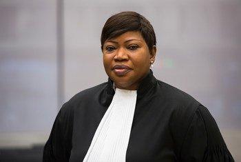 国际刑事法院检察官本苏达。