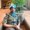 Meja Veronica Owuor, mlinzi wa amani na afisa mafunzo ya kijeshi kwenye operesheni za amani za Umoja wa Mataifa.