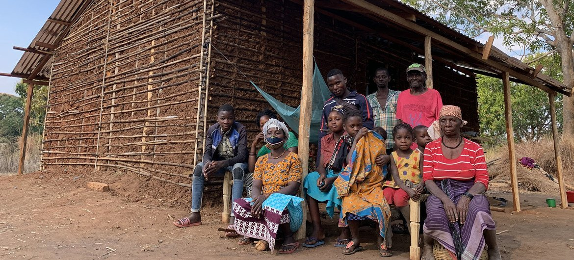 The UN refugee agency has been supporting families displaced by extremist violence in Cabo Delgado in Mozambique.