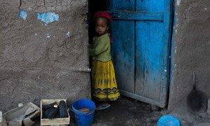 埃塞俄比亚北部提格雷地区的一名女童。
