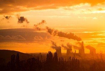 Centrales au charbon à Nottingham, en Angleterre.