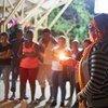Líderes comunitarias rinden homenaje a activistas sociales asesinados en el Chocó, en Colombia