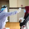 OMS sublinhou que proteção dos profissionais e centros de saúde é um imperativo