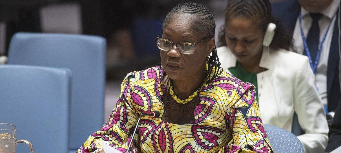 联合国秘书长特别代表兼联合国几内亚比绍建设和平综合办公室主任罗辛·索里-库里巴利